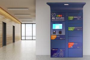 smart locker per aziende e uffici